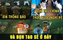 """Cảnh báo: Kỳ nghỉ hè chính thức bắt đầu, rank Việt """"chạy đằng trời"""" cũng không thoát được """"vấn nạn trẻ trâu"""""""