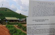 Đắk Nông: Cận cảnh những giấy cam kết không tiêm chủng 'rất lạ'