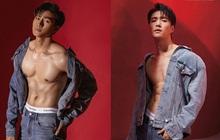 Bộ hình khoe múi mới của Mạc Trung Kiên bất ngờ bị soi giống Lay (EXO) từ tạo dáng đến... nội y
