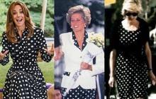 """Công nương Kate """"phá luật"""" thời trang nhưng chẳng bị chê mà còn gây xúc động khi gợi nhớ đến mẹ chồng Diana"""
