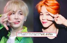 """Chỉ với vài icon ám chỉ màu tóc mới của Suga và Jimin, fan đã """"loạn nhịp"""" đặt nghi vấn cho màn comeback của BTS?"""