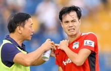 """Anh Đức chưa thể thi đấu, Văn Toàn vẫn phải """"gánh"""" HAGL trên bờ vai chưa lành"""