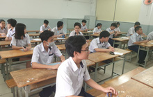 Mới mổ ruột thừa ít ngày, thí sinh vẫn cố gắng dự thi lớp 10