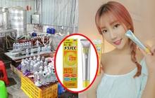Trung Quốc triệt phá cơ sở sản xuất mỹ phẩm giả quy mô lớn, trong đó có loại serum Vitamin C đình đám bán tràn lan ở Việt Nam chỉ 30k