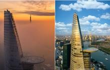 Khoảnh khắc 2 toà tháp cao nhất Sài Gòn vô tình lọt chung khung hình khiến dân mạng thảng thốt: Đẹp như cảnh trong phim Hollywood vậy!