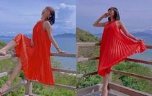 Hiếm hoi diện váy áo rộng thùng thình, Tóc Tiên liền có động thái đáng chú ý liên quan đến tin đồn mang thai