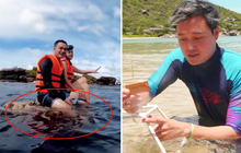 """Cư dân mạng đồng loạt """"đào"""" lại clip Quang Vinh từng trồng san hô - trái ngược với hành động vô ý đang bị chỉ trích"""