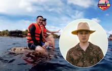"""Tổ chức Sinh vật biển Việt Nam nói về việc Quang Vinh ngồi lên rạn san hô để quay clip ở Phú Quốc: """"Hãy làm du lịch có tâm"""""""