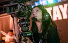 Đứng hình trước nhan sắc xinh đẹp của nữ quay phim khu vực Đài Bắc Trung Hoa tại APL 2020
