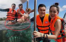 Động thái mới nhất của Quang Vinh và Phạm Quỳnh Anh giữa lúc bị chỉ trích vì hành động phá hoại tài nguyên biển