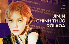NÓNG: Jimin tuyên bố rời khỏi AOA giữa drama bắt nạt chấn động Hàn Quốc