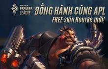 """Garena chơi lớn, cho game thủ nhận miễn phí skin Rourke Cuồng Tặc khi tham gia sự kiện """"Đồng hành cùng APL 2020"""""""