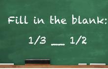 Những câu đố phân số thách thức cả người lớn, bạn có làm hết được không?