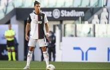 Ronaldo sút phạt thành bàn lần đầu tiên sau... 43 lần thử, Juve băng băng đến ngôi vô địch
