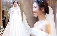Thuý Vân chính thức hé lộ váy cưới: Lộng lẫy, gợi cảm thế này đích thực là cô dâu được mong chờ nhất tháng 7 rồi!