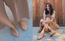 Cứ tưởng Hà Tăng chuyên diện giày đế thấp vì không màng chuyện hack dáng, thực ra cô toàn chọn những đôi siêu kéo chân