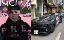 """Fan Binz chơi lớn quá: Phủ kín poster lên hàng loạt siêu xe lượn quanh Hà Nội """"hâm nóng"""" trước thềm ra MV"""