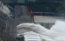 Đập Tam Hiệp (Trung Quốc) sẽ đón một trận lũ mới do mưa lớn