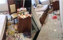 Nhóm khách thuê phòng khách sạn nhưng trả lại một... bãi chiến trường, dân tình vừa ngao ngán vừa thương người dọn dẹp