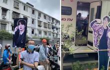 Con đi thi đại học, phụ huynh Trung Quốc mang ảnh BTS, Vương Nhất Bác đến cổ vũ tinh thần