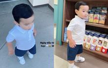 Con trai Phạm Hương ngày đầu đi học: Phổng phao lắm rồi còn ăn diện chỉn chu, nhìn là biết được mẹ chăm khéo