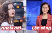 So sánh nhan sắc của các nữ MC dẫn bản tin VTV: Ngoài đời có giống như trên TV không?