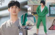 """""""Tiết kiệm"""" như anh Kim Soo Hyun: 7 năm vẫn đi một đôi dép, từ thời Ẩn Thân sang tận Điên Thì Có Sao chứ chẳng đùa!"""