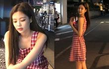 Jennie (BLACKPINK) qua ống kính bạn thân: Ảnh chất lượng thấp nhưng visual chất lượng cao, đứng 1 góc mà sáng bừng con phố