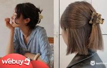 """Để làm tóc xịn đẹp chứ không nhạt nhẽo """"chán đời"""", nàng nào cũng nên sắm kẹp càng cua hot trend năm nay"""