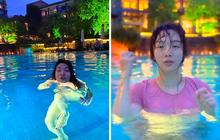 """Nhờ bạn thân chụp cho bộ hình quyến rũ ở hồ bơi, cô nàng nhận về loạt ảnh """"biến dạng"""" đến tức tưởi!"""