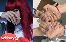 """Đi đâu cũng gặp """"nail Black Pink"""", đỉnh nhất là mẫu nail vuông lì giống Lisa nàng nào cũng muốn bắt chước"""