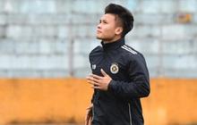"""Quang Hải ốm sốt liên miên, Hà Nội FC vẫn phải mang đội hình """"dặt dẹo"""" đến Đà Nẵng"""