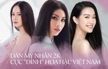 """Dàn """"ngựa chiến"""" 2k gây bão Hoa hậu Việt Nam 2020: Già nửa là gương mặt kỳ cựu, visual và body khiến hội 9x phải e dè"""
