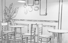 """Xuất hiện quán cafe truyện tranh ở Sài Gòn có phong cách """"y chang"""" một quán tại Hàn Quốc"""