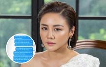 Văn Mai Hương công khai đoạn chat với bạn trai tin đồn: Thoải mái cho chàng đi gái gú bạn bè, nhưng sao như dằn mặt thế này?