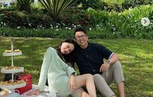 """Bức ảnh Hương Giang - Matt Liu công khai quan hệ cán mốc like khủng, lập kỷ lục trên """"mặt trận"""" Instagram sao Việt?"""