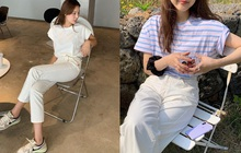 """4 chiêu mặc đẹp với quần jeans trắng bạn nhất định phải """"găm"""" nếu muốn cải tổ style """"bình bình"""""""