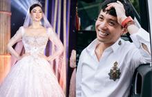 Minh Nhựa mạnh tay chi hơn 400 triệu đấu giá váy cưới của Lương Thuỳ Linh ủng hộ Đà Nẵng chống dịch Covid-19