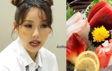 """""""Siêu tân binh"""" SSAK3 ăn cá sống ở phòng chờ show ca nhạc, đến Lee Hyori cũng tự ái ngại: Làm gì có nhóm nào ăn bạch tuộc ở đây ta?"""