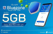 Khuyến khích tải ứng dụng Bluezone, nhà mạng đồng loạt tặng 5GB data, miễn phí 100% cước truy cập