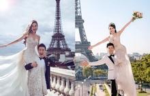 Ảnh cưới của Âu Hà My bất ngờ được chia sẻ rầm rộ vì concept giống nhà... Huỳnh Hiểu Minh - Angela Baby
