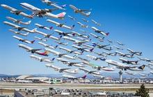 """Ngoạn mục hàng trăm máy bay cất cánh cùng lúc như thể """"tắc đường hàng không"""" cùng loạt khoảnh khắc ở sân bay khiến ai cũng ngạc nhiên"""