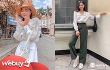 4 công thức diện áo blouse dài tay đơn giản mà đẹp mê, bạn cứ áp dụng là xinh như tiểu thư