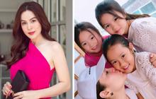 Cho con học trường quốc tế từ nhỏ, người mẹ hoa hậu sốt sắng khi con... không sõi tiếng Việt