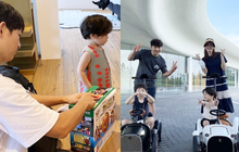 """Song Joong Ki lộ diện khác lạ, dửng dưng đi chơi với gia đình sau khi bị Song Hye Kyo """"đá xoáy"""""""