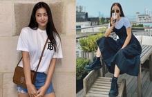 Sao Hàn có 10 cách diện áo phông trắng xinh nức nở, bạn cứ học theo là style chẳng bao giờ bị chê nhạt