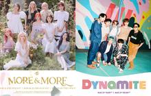 """TWICE tung bản tiếng Anh của MORE & MORE cùng ngày cùng giờ với MV comeback của BTS, tưởng fan """"chiến"""" nhau ai ngờ lại cực """"chill""""?"""