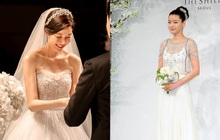 """Đào lại váy cưới của dàn mỹ nhân huyền thoại, dân Hàn mới thấy """"trùm cuối"""" là Kim Ha Neul chứ không phải Han Ga In hay Jeon Ji Hyun"""