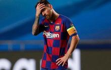 Messi ôm đầu buồn bã, thất thần chứng kiến thất bại 2-8 không thể tin nổi của Barca