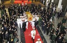 Lễ đưa tang nguyên Tổng Bí thư Lê Khả Phiêu
